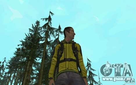 Backpacker HD Skin pour GTA San Andreas
