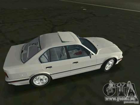 BMW 540i (E34) 1992 pour une vue GTA Vice City de la gauche