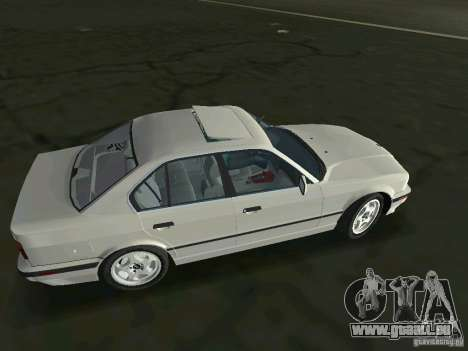BMW 540i (E34) 1992 für GTA Vice City linke Ansicht