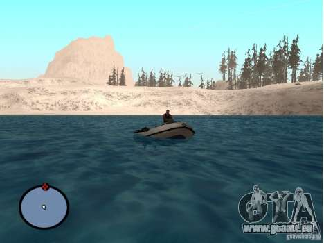 Winter Mod für GTA San Andreas fünften Screenshot