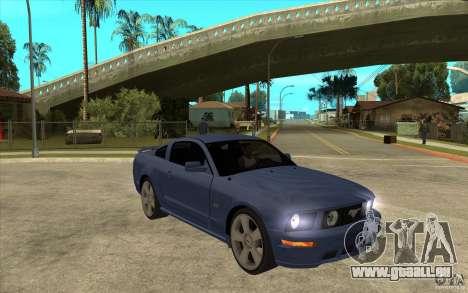Ford Mustang 2005 pour GTA San Andreas vue arrière
