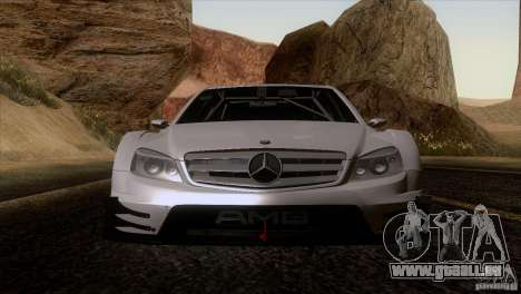 Mercedes Benz C-Class Touring 2008 pour GTA San Andreas vue de droite
