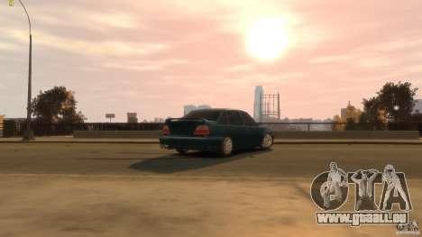 Daewoo Nexia Tuning für GTA 4 Rückansicht