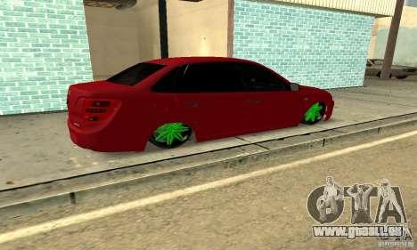 Lada Granta Dag Style pour GTA San Andreas laissé vue