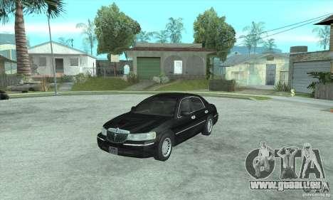 Lincoln Town Car 2002 pour GTA San Andreas