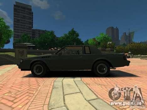 Buick Regal GNX für GTA 4 linke Ansicht