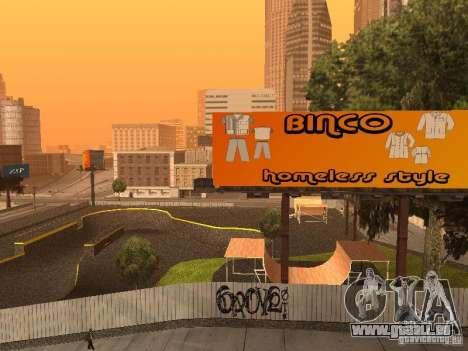 New SkatePark für GTA San Andreas fünften Screenshot