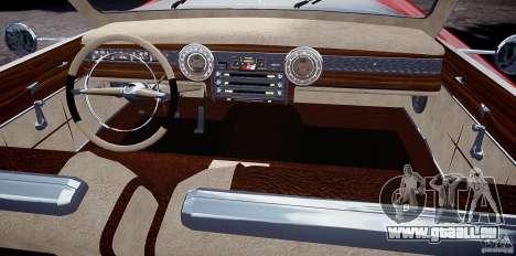Buick Custom Copperhead 1950 für GTA 4 Rückansicht