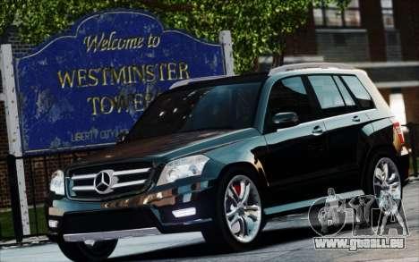 Mercedes-Benz GLK 320 CDI für GTA 4 rechte Ansicht