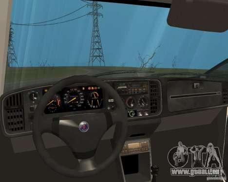 Saab 900 Turbo 1989 v.1.2 für GTA San Andreas Unteransicht