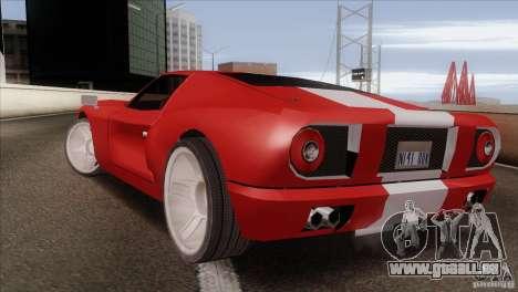 Bullet HD pour GTA San Andreas laissé vue