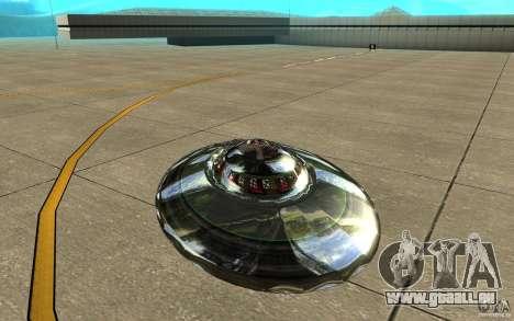 Real UFO für GTA San Andreas rechten Ansicht