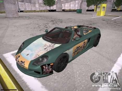 Porsche Carrera GT pour GTA San Andreas salon