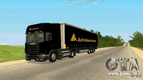 Scania 114L pour GTA San Andreas