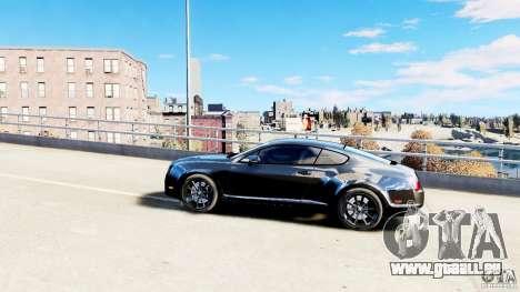 Bentley Continental SuperSports v2.5 für GTA 4 linke Ansicht