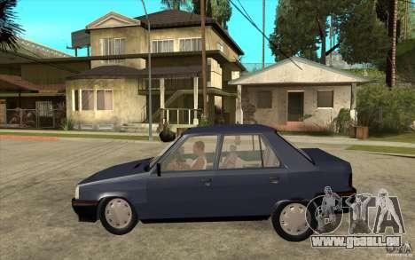 Renault 9 Mod 92 TXE pour GTA San Andreas laissé vue