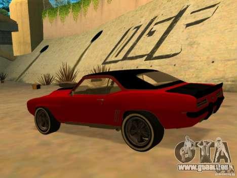 Chevrolet Camaro SS Custom für GTA San Andreas linke Ansicht