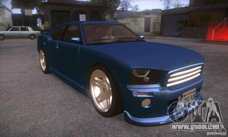 GTA IV Buffalo für GTA San Andreas Rückansicht