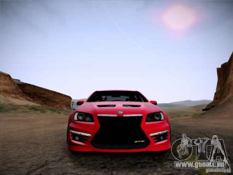 Holden HSV GTS für GTA San Andreas rechten Ansicht