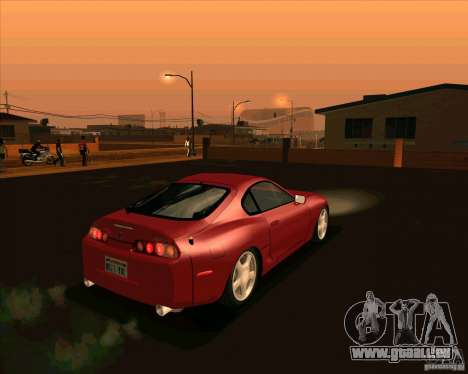Toyota Supra NFS Most Wanted für GTA San Andreas zurück linke Ansicht