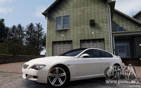 BMW M6 2010 v1.4 pour GTA 4 est un côté