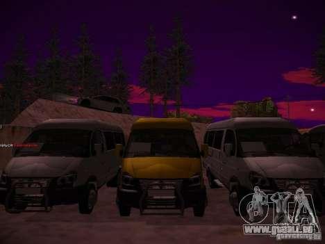 Gazelle 32213 Business v1.0 pour GTA San Andreas vue arrière