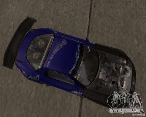 Mazda RX-7 FD3S special type pour GTA San Andreas laissé vue