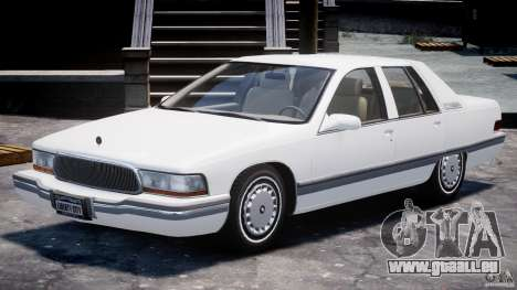 Buick Roadmaster Sedan 1996 v1.0 für GTA 4 linke Ansicht