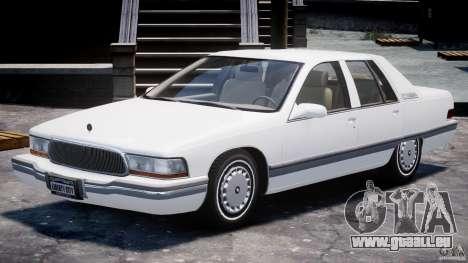Buick Roadmaster Sedan 1996 v1.0 pour GTA 4 est une gauche
