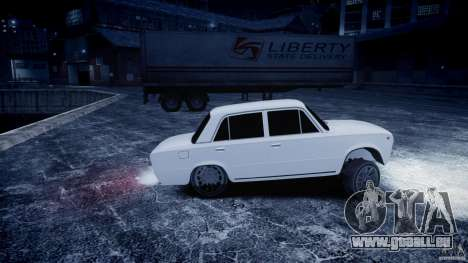 VAZ 2101 Avtosh Style pour GTA 4 Vue arrière de la gauche