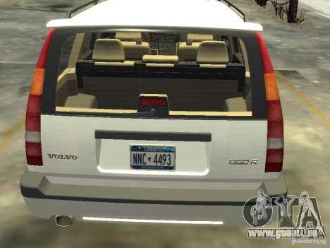 Volvo 850 R 1996 Rims 2 pour GTA 4 Vue arrière de la gauche