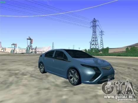 Opel Ampera 2012 pour GTA San Andreas