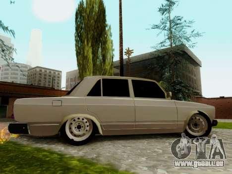 VAZ 2107 pour GTA San Andreas salon