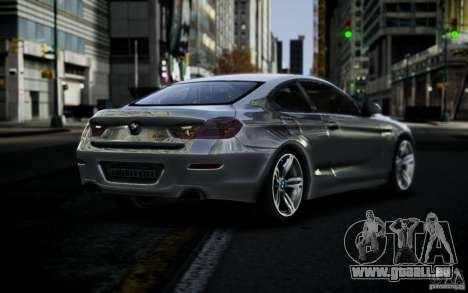 BMW 640i F12 pour GTA 4 est une gauche