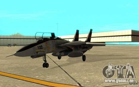 F-14A Screaming Eagles VF-51 pour GTA San Andreas laissé vue