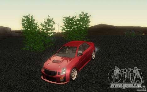 Cadillac CTS-V für GTA San Andreas Seitenansicht