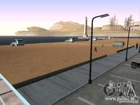 Nouvelle plage texture v1.0 pour GTA San Andreas quatrième écran