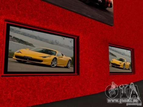 Nouveau Showroom de Ferrari à San Fierro pour GTA San Andreas quatrième écran