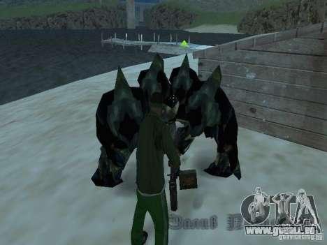 Unterwasser Monster für GTA San Andreas dritten Screenshot