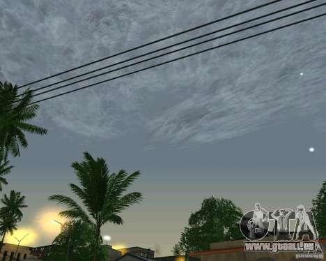 Nouveaux nuages pour GTA San Andreas troisième écran