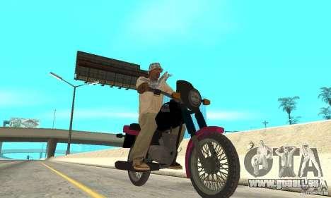 ZID Owl 175 v 2.0 pour GTA San Andreas laissé vue