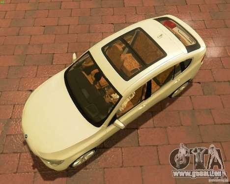 BMW 550i GranTurismo 2009 V1.0 für GTA San Andreas Innenansicht