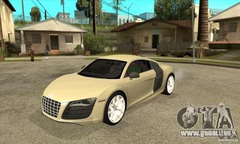 Audi R8 V10 5.2 FSI Quattro pour GTA San Andreas