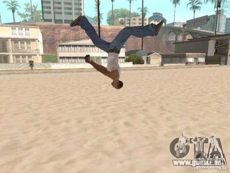 Parkour 40 mod pour GTA San Andreas cinquième écran
