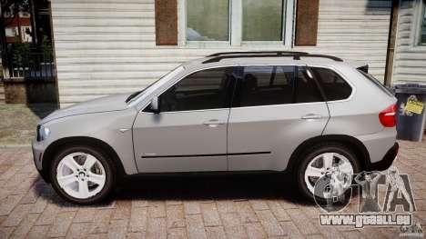BMW X5 xDrive 4.8i 2009 v1.1 pour GTA 4 est une gauche