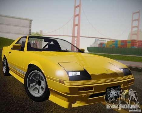 GTA IV Ruiner v2 pour GTA San Andreas vue arrière