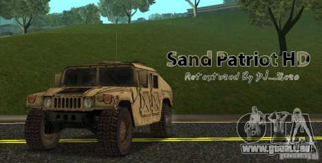 Sand Patriot HD pour GTA San Andreas