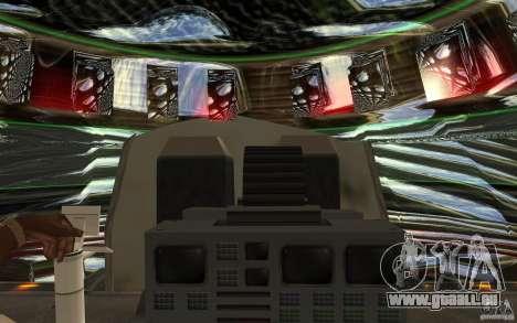 Real UFO für GTA San Andreas Innenansicht