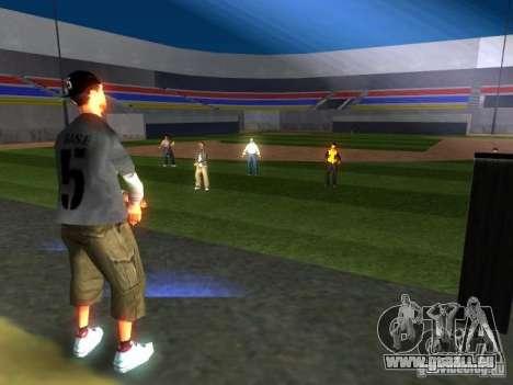 Concert de l'AK-47 v 2.5 pour GTA San Andreas quatrième écran