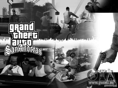 Schönes Boot-Bildschirm für GTA San Andreas her Screenshot